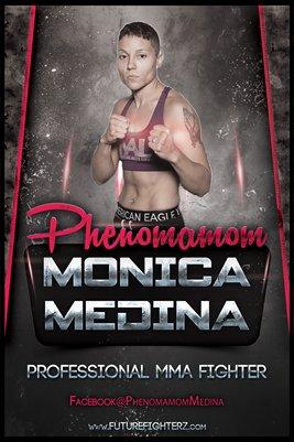 """Monica """"Phenomamom"""" Medina - Poster"""