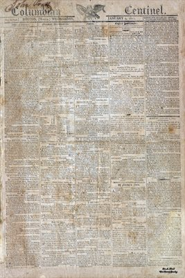 PAGES 1-2, JAN. 02,1811, COLUMBIAN CENTINEL, BOSTON. MASS
