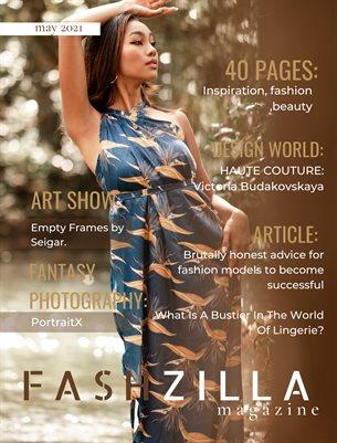 Fashzilla Magazine, May 2021