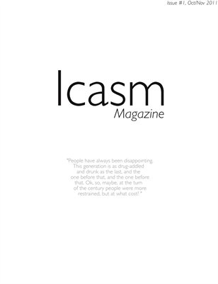 Icasm Magazine Issue #1