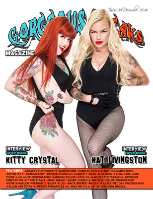 Issue 36 Cover Models: Kitty Crystal & Kat Livingston