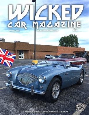 WICKED CAR MAGAZINE - TINLEY BOWL CAR SHOW - AUSTIN HEALEY