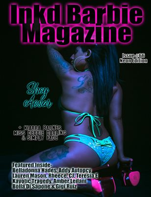 Inkd Barbie Magazine Issue #66 - Shey Assar