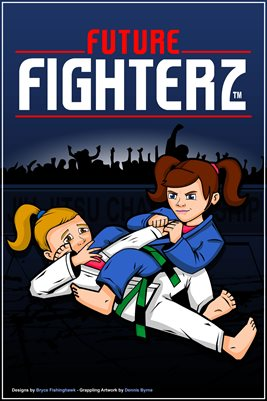 FF Female Armbar by Artist Dennis Byrne - Poster