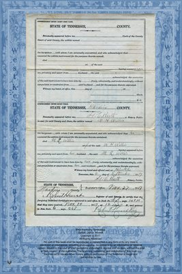(PAGES 3-4) NO.267 WARRANTY DEED, W.H. WILLIS TO G.M. BRIDGES, HARDIN COUNTY, TENNESSEE