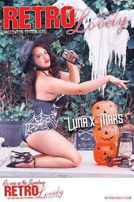 Luna x Mars Halloween Cover Poster