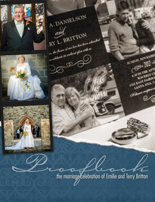 Emilie and Terry Britton Proofbook