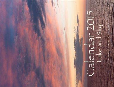 Calendar 2015: Lake and Sky