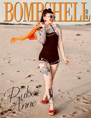 BOMBSHELL Magazine July 2020 - Miss Rubee Anne Cover