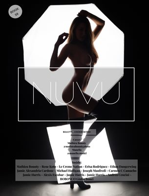Nuvu Magazine Nude Book 39 Featuring Manelia