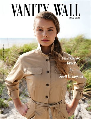 Vanity Wall Magazine | Cover no.1 | July 2020 | Vol. i Issue 7