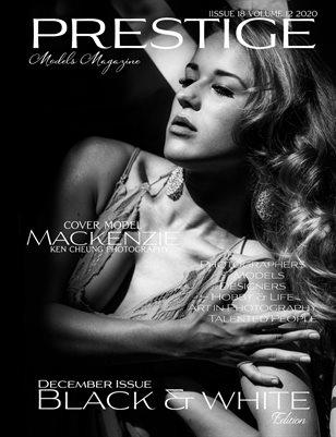 PRESTIGE MODELS MAGAZINE_ Black & White 18/12