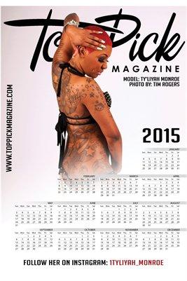 Ty'Liyah Monroe Calendar