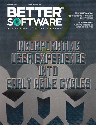 Better Software magazine Summer 2015