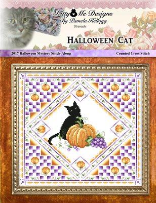 Halloween Cat - 2017 Halloween Mystery Stitch-Along