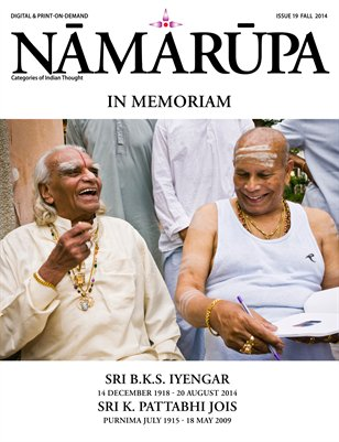 Namarupa Issue 19 - Fall 2014