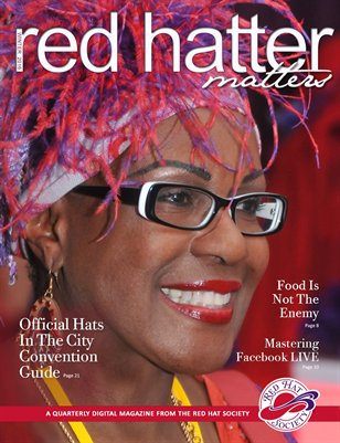 Red Hatter Matters - Winter 2016