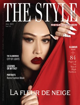 THE STYLE RESEARCHER July 2021 Vol. 15 / Glamour Issue (AC)