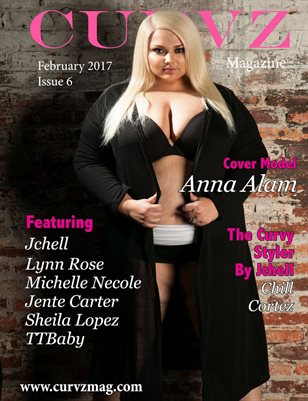 Curvz Magazine February 2017 Issue 6