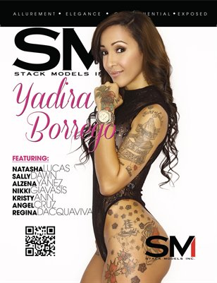 Stack Models Magazine Issue 12 Yadria Borrego Cover