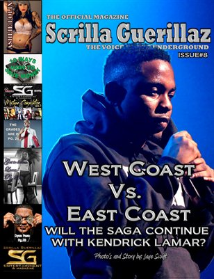 The Official Scrilla Guerillaz Magazine issue #8