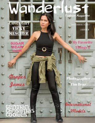 "Wanderlust Fashion Magazine, Issue #8 ""International Models"""