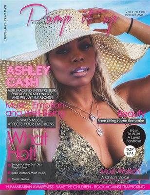 Pump it up magazine - Ashley Ca$h - Model And Business Woman! - Vol. 5 - Issue #10