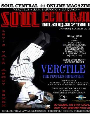 Soul Central Magazine January 2015
