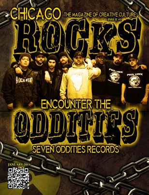 Chicago rocks January 2014 issue #1 seven oddities (chicago)