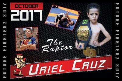 Uriel Cruz Cal Poster 2017
