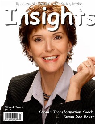 Insights Magazine featuring Susan Rae Baker