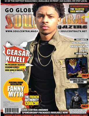 Soul Central Magazine International Indie Artist Ceasar Kiveli
