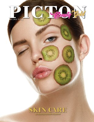 Picton Magazine AUGUST 2019 Beauty GOLD N232 Cover 2