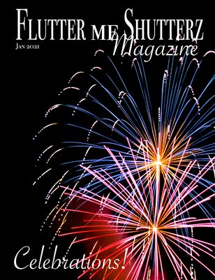 Flutter me Shutterz Magazine - Celebrations - Jan 2021