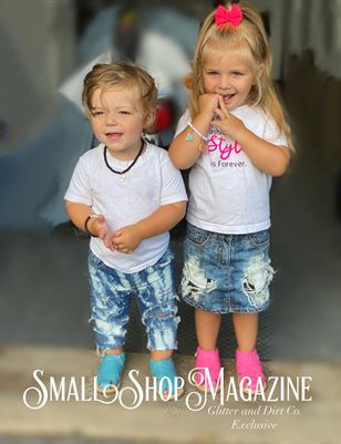 Small Shop Magazine Glitter and DIRT co. Exclusive