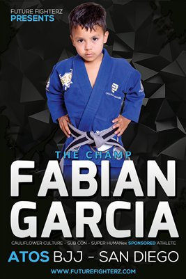 Fabian Garcia The Champ - Poster