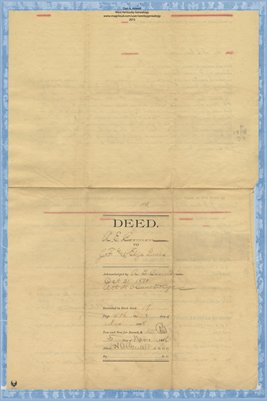 1898 Deed, A.E. Carman to J.F. Lewis, Graves County, Kentucky