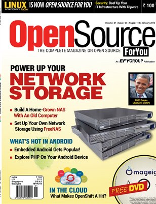 Open Source For You, January 2013