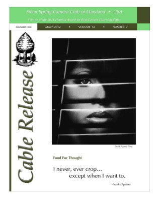 March 2012 Cable Release, Vol. 53, No. 7