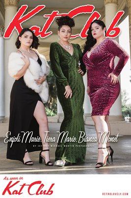 Kat Club No.21 – Enjoli Marie, Bianca Monet, Tiera Marie Cover Poster