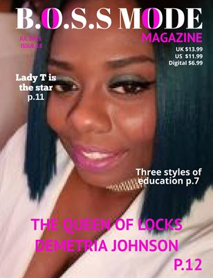 B.O.S.S MODE Magazine July Edition 2021