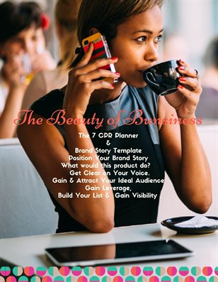 The Beauty of Business 7 CPR Journal