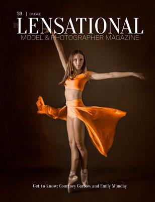 LENSATIONAL Model and Photographer Magazine #39 Issue | Orange - May 2020