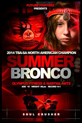 Summer Bronco Poster