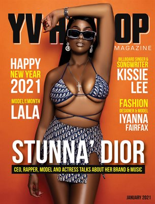 YV Hip Hop Magazine January 2021 Issue