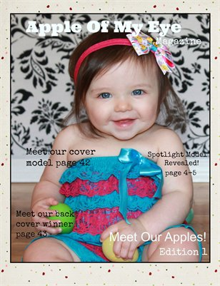 Apple of My Eye Magazine Issue 1: Meet the Apples