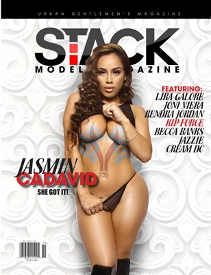 Stack Models Magazine Print Issue 2 - Jasmin Cadavid Cover