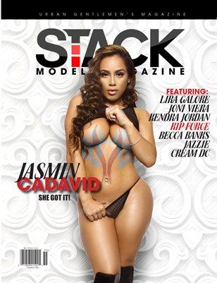 Stack Models Magazine Print Issue 2 - Jasmin Cadavid Cover