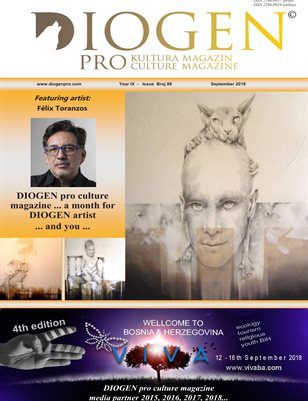 DIOGEN pro culture magazine No 89, September 2018