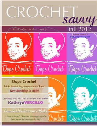 Crochet Savvy Magazine Fall 2012